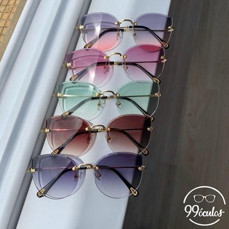 Óculos de Sol Aviador Julie