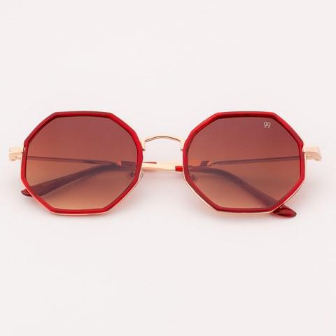 Óculos de Sol Hexagonal Califórnia