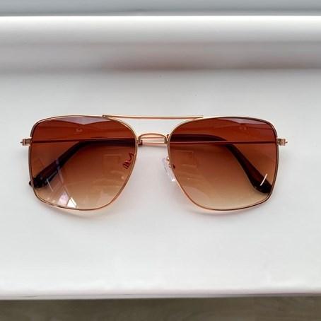Óculos de Sol Hexagonal Hazel