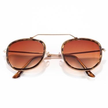 Produto Óculos de Sol Hexagonal Mirian