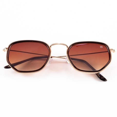 Óculos de Sol Hexagonal Sheila