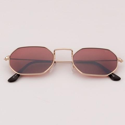 Óculos de Sol Hexagonal Tintim