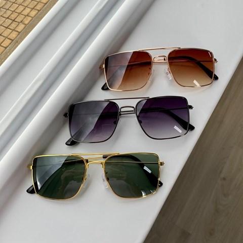 Óculos de Sol Infantil Hexagonal Hazel