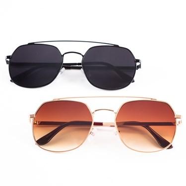 Produto Óculos de Sol Quadrado 61