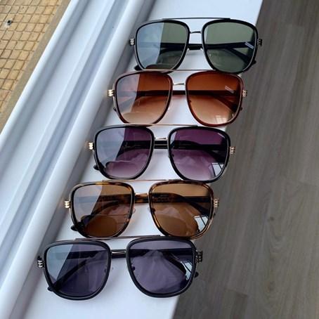 Óculos de Sol Quadrado Loren