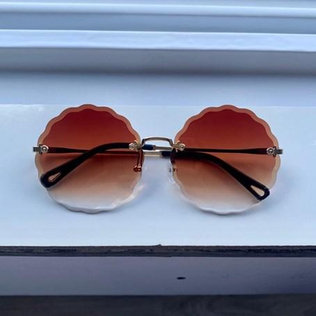 Óculos de Sol Redondo Coral