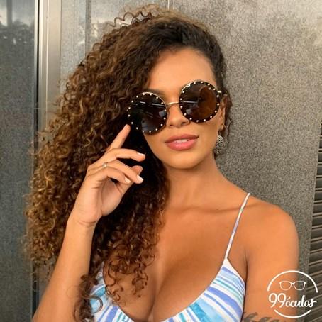 Óculos de Sol Redondo Diva