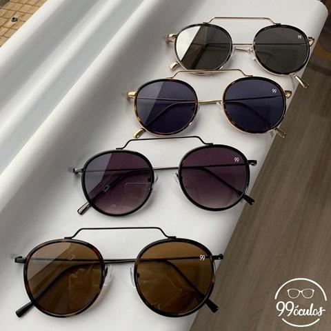 Óculos de Sol Redondo Stela