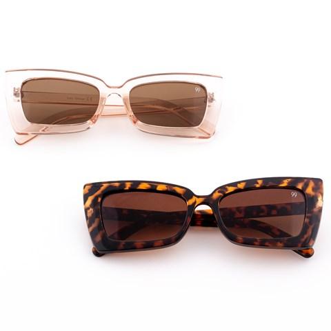 Óculos de Sol Retangular Freire
